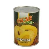 Ананасы Оскар (Oscar) кольца 580 г – ИМ «Обжора»