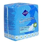 Прокладки Либрес (Libresse) Classic Ultra Clip Super dry, 9 шт – ИМ «Обжора»