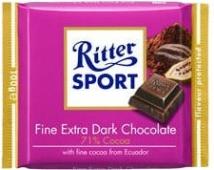 Шоколад Риттер спорт (Ritter Sport) какао горький 100 г 71% – ИМ «Обжора»
