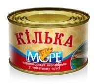 Килька неразделанная в томатном соусе Море 230 г – ИМ «Обжора»
