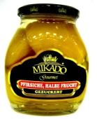 Персики Микадо (Mikado) половинки 580 г – ИМ «Обжора»