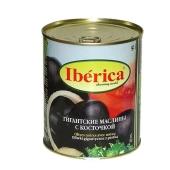 Маслины Иберика (Iberica) гигантские с косточкой 875 г – ИМ «Обжора»
