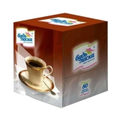 Салфетки Альбатрос Будь Ласка цветные 80 (куб) – ИМ «Обжора»