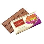 """Шоколад """"Рошен"""" (Roshen) экстрамолочный с дроблеными лесными орехами и изюмом,100 г – ИМ «Обжора»"""