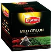 Чай Липтон Mild Ceylon 20 пак.пирам. – ИМ «Обжора»