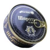 Шпроты в масле Масеко ключ (консервы) 160 гр. – ИМ «Обжора»