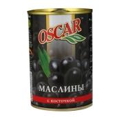 Маслины Оскар (Oscar) с косточкой 300 гр. – ИМ «Обжора»