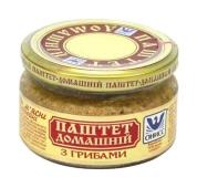Паштет Онисс Домашний 200 гр. с грибами стеклянная банка – ИМ «Обжора»