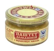 Паштет Онисс Домашний 200 гр. с маслом стеклянная банка – ИМ «Обжора»