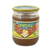 Сгущеное молоко Первомайский МКК Ириска 580г ст/б – ИМ «Обжора»