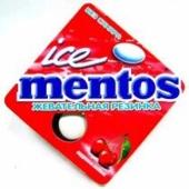 Жевательная резинка Ментос Айс Вишня Ментол 12,9г – ИМ «Обжора»