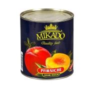 Персики Микадо половинки 850 г – ИМ «Обжора»