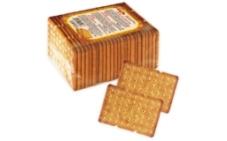 Крекер Бисквит-шоколад (ХБФ)  400г Бутербродный ХБФ – ИМ «Обжора»