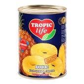 Ананасы Тропик Лайф (TROPIC Life) 580 г – ИМ «Обжора»
