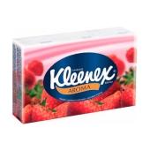 Платки носовые Клинекс (Kleenex) VELTIE 10*10 клубника – ИМ «Обжора»