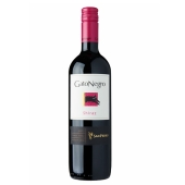 Вино Гато Негро (Gato Negro) Шираз 0,75 л – ИМ «Обжора»