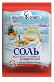 Сіль Salute di Mare 600г Морська йодов – ІМ «Обжора»
