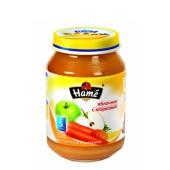 Пюре яблуко морква Наmе 190 г – ІМ «Обжора»