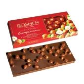Шоколад Рошен 90г молочний цільний горіх – ІМ «Обжора»