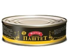 Консервы Шпротный паштет 160г Морские – ИМ «Обжора»