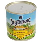 Горошек Хуторок 420 г – ИМ «Обжора»
