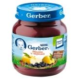 Пюре Гербер (Gerber) Яблоко-черника 130 г – ИМ «Обжора»
