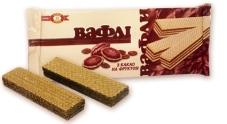 Вафли Бисквит-шоколад (ХБФ) С какао на фруктозе 130 г – ИМ «Обжора»