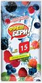 Салфетки влажные Смайл (Smile) Fresh Бери 15 шт – ИМ «Обжора»