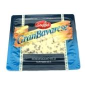 Сыр Гранд Баварезе (Gran Bavarese) с голубой плесенью 100 г – ИМ «Обжора»