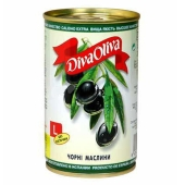 Маслины Дива олива (Diva Oliva) без косточек 300 гр. – ИМ «Обжора»