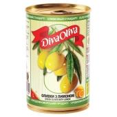 Оливки Дива олива (Diva Oliva) с лимоном 300 гр. – ИМ «Обжора»