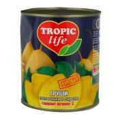 Груши Тропик Лайф (TROPIC Life) в сиропе половинки 850 мл – ИМ «Обжора»