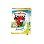 Сыр плавленый Веселая коровка Сливочный 100 г – ИМ «Обжора»