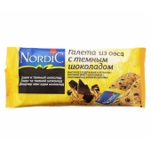 Галета Нордик (Nordic) из овса с черным шоколадом 30 г – ИМ «Обжора»