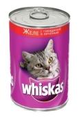 Корм Вискас (Whiskas) с ягненком 400 г – ИМ «Обжора»