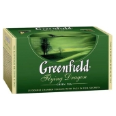 Чай Гринфилд Флаинг Драгон 25 пакетиков – ИМ «Обжора»