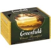 """Чай Гринфилд """"Классик брекфаст"""" 25 пакетиков – ИМ «Обжора»"""