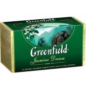 Чай Гринфилд 25 пакетиков Жасмин – ИМ «Обжора»