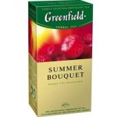 Чай Гринфилд 25 пакетиков Самма букет – ИМ «Обжора»