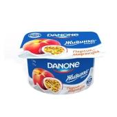 Йогурт Живинка персик-маракуйя 1,5% 115 г – ИМ «Обжора»