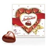 Конфеты Любимов 15 сердец 125 г – ИМ «Обжора»