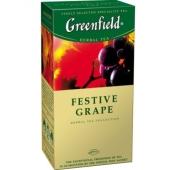 Чай Гринфилд 25пак.Фестив Грейп – ИМ «Обжора»