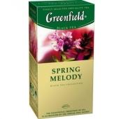 Чай Гринфилд 25 пакетиков Спринг Мелоди – ИМ «Обжора»