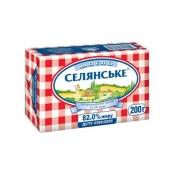 Масло На здоровье Селянское 82% 200 гр. – ІМ «Обжора»
