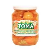 Компот Тома из абрикосов 700 г – ИМ «Обжора»