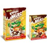 Кукурузные шарики Золотое Зерно шоколадно-молочные 75 г – ИМ «Обжора»