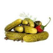 Огурец соленый вес – ИМ «Обжора»