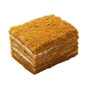 Торт Мариам Медовый со взбитыми сливками и грильяжем 1,0 кг – ИМ «Обжора»