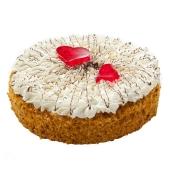 Торт Мариам Медовый с вишнями 600 г – ИМ «Обжора»