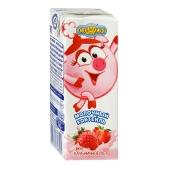 Молочный коктейль Смешарики Клубника 2,5 % 210 г – ИМ «Обжора»